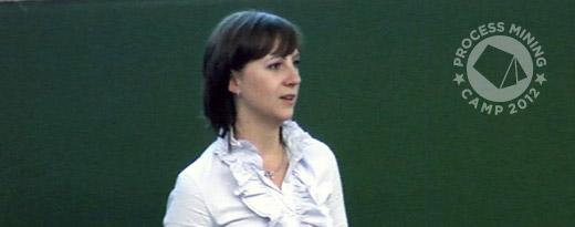 Video: Mieke Jans at Process Mining Camp 2012