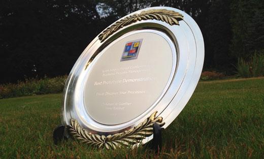 Best Demo Award at BPM 2012 for Fluxicon Disco