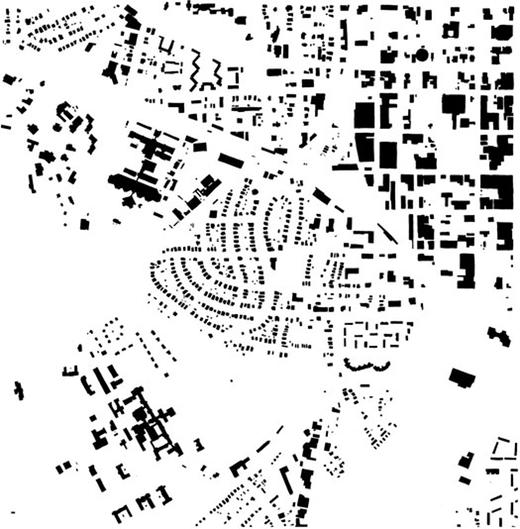 Ichnographic city map