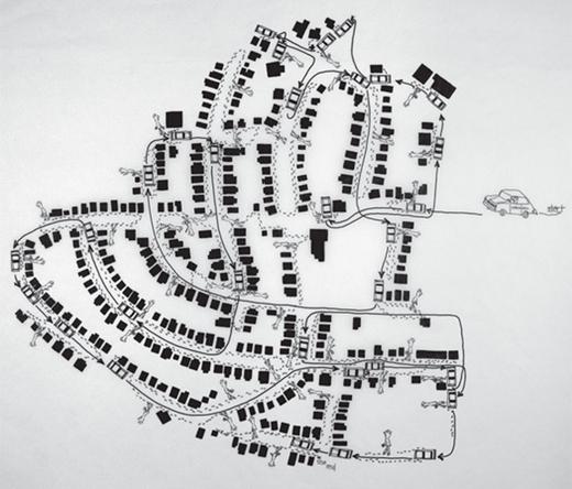 Mailman Map
