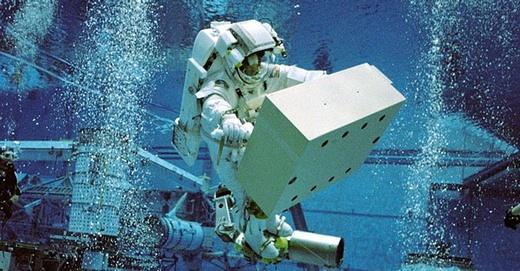 Underwater simulation
