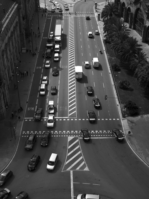 Barcelona traffic