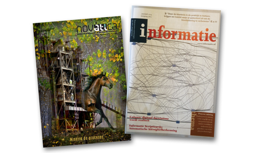 Dutch magazine 'Informatie' this month as a special issue over process mining!