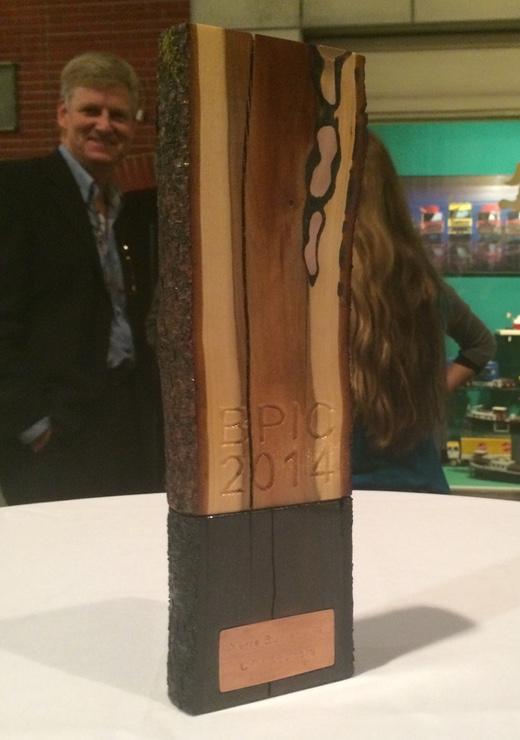BPI Challenge award trophy 2014