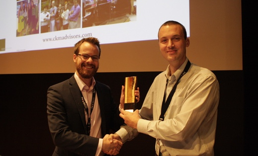 CKM Advisors - Accepting the Award for the BPI Challenge 2014