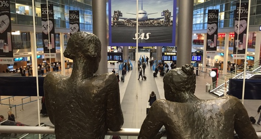 Copenhagen Airport (photo credit: John Hansen)