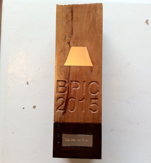BPI Challenge Trophy 2015 (artwork by Felix Günther)