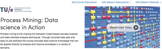 Coursera Process Mining MOOC