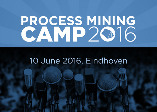 Get your ticket for Process Mining Camp 2016 now!