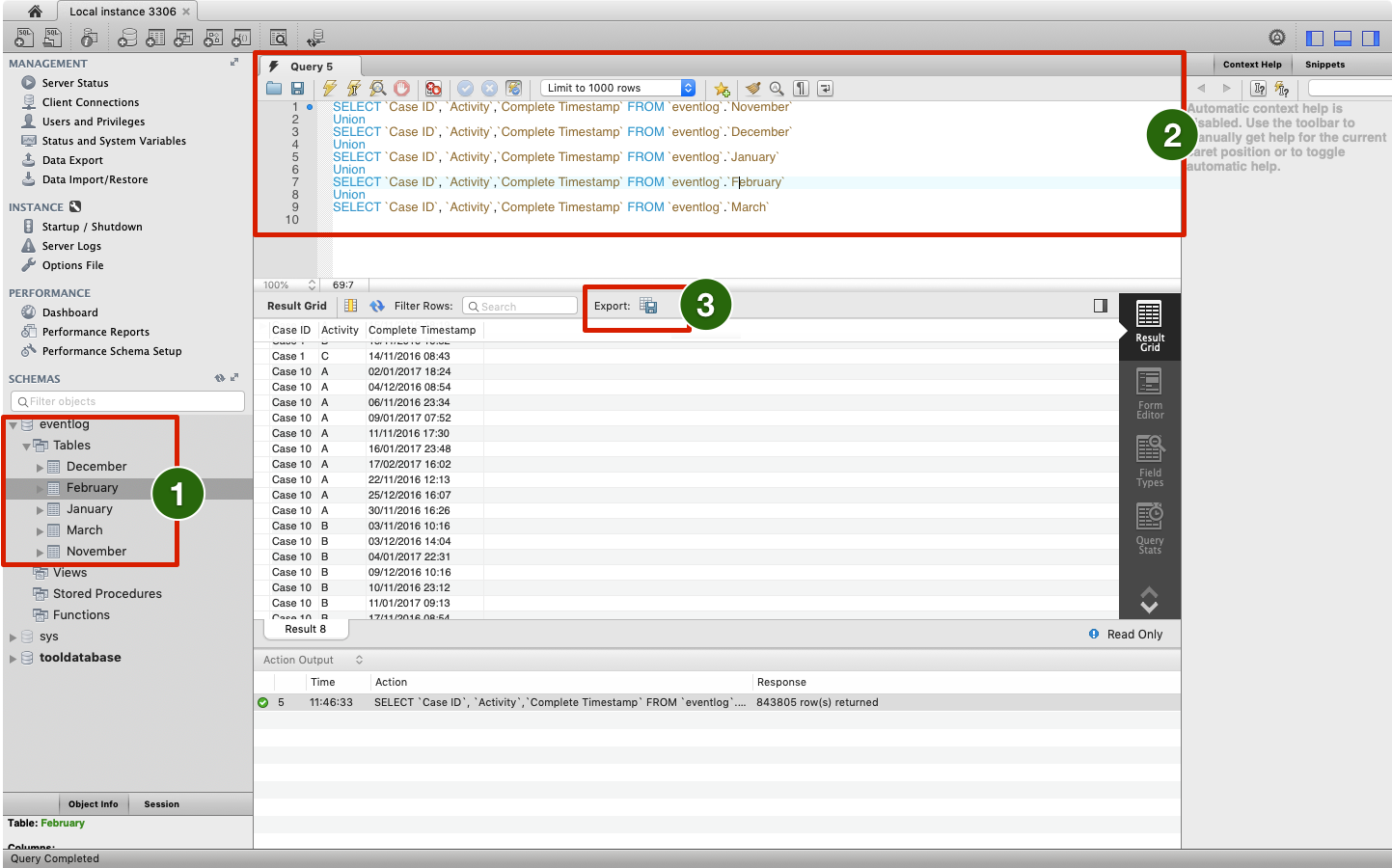 Process Mining Transformations – Part 3: Combine Data Sets of the