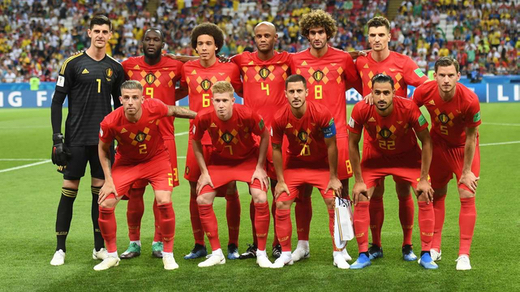 Figure 2: Belgium in the World Cup 2018